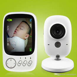 Night Vision Animal Camera Australia - 2.4G Wireless Video Color Baby Monitor Night Vision Intercom Camera with Temperature Dection 3.2 inch