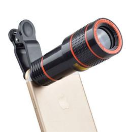 $enCountryForm.capitalKeyWord Australia - Universal 12X telephoto mobile phone lens focusing zoom telescope head external HD camera 12 times lens FOR: iphone Samsung