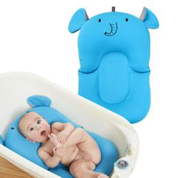 $enCountryForm.capitalKeyWord UK - Baby Bath Mat Anti-skid Bath Bed Mesh Mat Tub Newborn Baby Foldable Tub Pad & Chair & Shelf Newborn Bathtub Seat