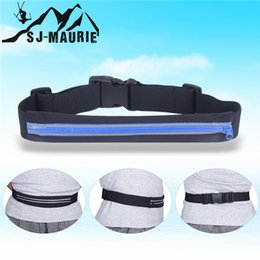 sj sports Australia - SJ-MAURIE Running Bag Men Women Fitness Gym Sports Running Cycling Jogging Bag Waterproof Mobile Phone Holder Waist Belts