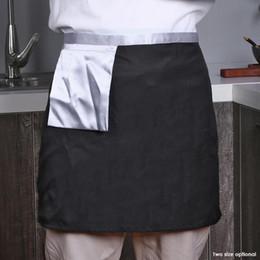 $enCountryForm.capitalKeyWord Australia - Kitchen Waterproof Apron Women Men Restaurant Chef Apron For Cooking Baking Kitchen Apron Restaurant Pinafore 18#