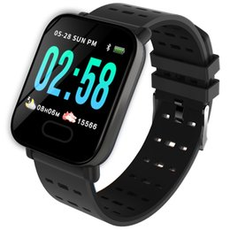 $enCountryForm.capitalKeyWord Australia - BINSSAW A6 Smart Watch with Heart Rate Monitor Fitness Tracker Blood Pressure Smartwatch Waterproof For Android IOS PK Q8 V6 S9