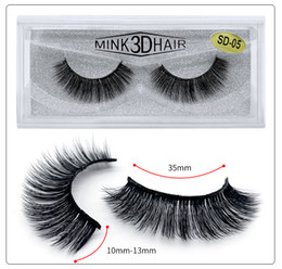 $enCountryForm.capitalKeyWord Australia - 2019 HUAPAN 3D Mink Eyelash Messy Extension 3D false eyelashes a pair of eyelashes female dense eyelashes