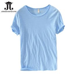 $enCountryForm.capitalKeyWord Australia - New 2018 Summer Linen T Shirt Men Short Sleeve O-neck Breathable 100% Linen Cotton Tops&tee Soft White T-shirt High Quality 213 Y19050701