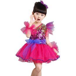 1f43635f2772 Girls sequin leotard online shopping - New Ballet Dress Girls Jazz Dance  Costume with Hairclip Wristband