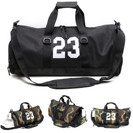 31b9e1b3e5 New 23 Camouflage Designer Duffle Bag Luxury Brands Mens Womens Designer  Bags Black Large Capacity Sport Gym Bags