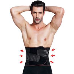 f6333335696 Men Waist Trainer Body Shaper Adjustable Waist Trainers Corset Gyms  Protecting Slimming Belts Belly Trimmer Black Cinchers Shapewear