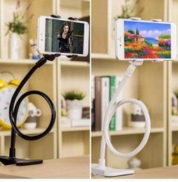 Tablet Arm Stand Australia - 360 Rotating Flexible Long Arm Cell Phone Holder Stand Lazy Bed Desktop Tablet Selfie Mount Bracket For iphone For Samsung Etc.
