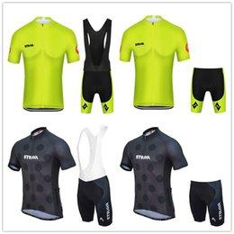 $enCountryForm.capitalKeyWord Australia - Tour De STRAVA 2019 Men Clothing Cycling Jersey kits Summer short sleeve (bib) shorts Quick-dry racing maillot ciclismo set Italy