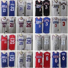 $enCountryForm.capitalKeyWord Australia - 2019 new Philadelphia Joel 21 Embiid 76ers Ben 25 Simmons Jersey Allen 3 Iverson Julius 6 Erving Jerseys men