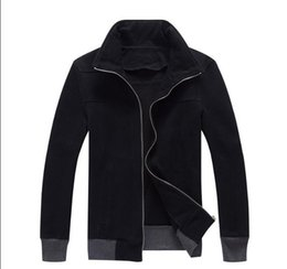 sword art kirito cosplay costume Australia - 2019 Sword Art Online II Kirito winter Coat Anime SAO Black Black Cotton Fleece Hoodies Sweatshirts Autumn Cosplay Casual Unisex Jacket unif