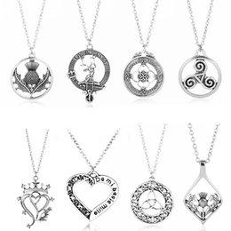 Jewelry trinket online shopping - Outlander Necklace TV Show Jewelry Women Choker Charm Chain suspension Necklaces Pendants trinket Fashion bijouterie