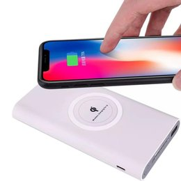 $enCountryForm.capitalKeyWord UK - Durable Large Capacity Dual Use Wireless For General Phone 5mW 10000mAh Power Bank 5V2.1A 2-4mm Mobile Power
