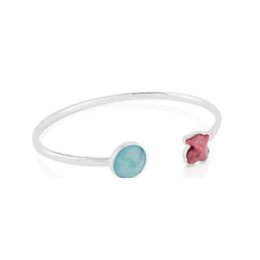 $enCountryForm.capitalKeyWord UK - DORAPANG NEW 100% 925 Sterling Silver Bear Bracelet 513121500 Shell Colorful Gem Charm Women's Bracelet Simple Fashion Jewelry