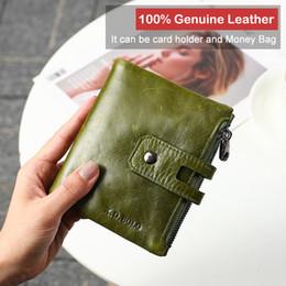 $enCountryForm.capitalKeyWord NZ - Fashion Design Wallet Women Genuine Leather Card Holder Female Purse Zipper Short Clutch Ladies Purses With Coin Pocket