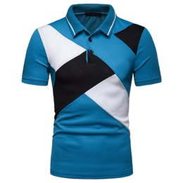 0a28d829965a 1pcs High Quality Fashion Men Slim Fit T-Shirts Short Sleeve Casual Plain  Cool POLO Milchseide Tees Tops
