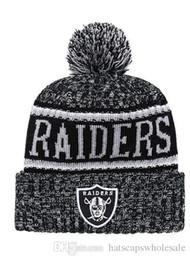 e423c0f4c8f 2019 Winter Raiders Beanie Skull Hats for Men women Knitted Beanie Wool  Cuffed Knit Hat Bonnet Beanies Warm Hip Hop Cap