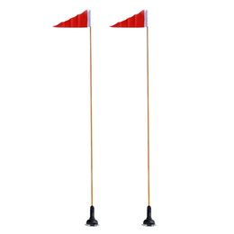 Wholesale 2pcs Inch Safety Flag Base Kit with Rail Mount Base Flag Pole for Canoe Kayak Inflatable Boat Dinghy Yacht DIY Accessories