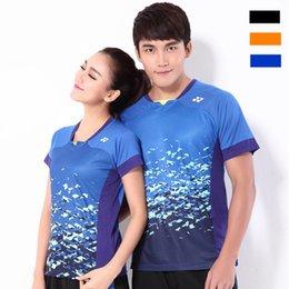Sportswear T Shirt Badminton Australia - F6 YON EXX Badminton Suit Sportswear for Men and Women Short Sleeve T-shirt for Leisure Running Table Tennis pingpong Y3018
