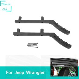 Top ouTleTs facTory online shopping - Rear Top Handle Black For Jeep Wrangler JK Factory Outlet High Quatlity Auto Internal Accessories