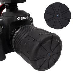Wholesale New Silicone Lens Cover, SLR Camera Lens Cover, Dust-proof and Waterproof Lens Cover, Universal Protective Cover Camera Accessories