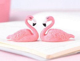 China Gifts Souvenirs Australia - Flamingo Souvenir Plastic Crafts Cake Creative Gift Decoration Gift Accessories