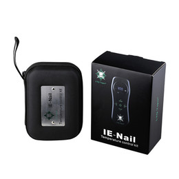 Nails cream online shopping - LTQ Vapor IE Nail Device w Heat coil ohm Authentic for wax dry herb cream Carb cap with removable dab tool DHL Free