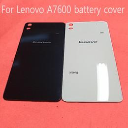 $enCountryForm.capitalKeyWord Australia - Original Housing For Lenovo 7600 A7600M S8 Battery Door Back Cover Replacement Parts