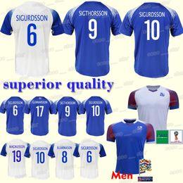 c1ffb83cc5e Iceland soccer Jersey 2018 world cup GUDMUNDSSON SIGTHORSSON G.SIGURDSSON  TRAUSTASON FINNBOGASON INGASON new Football jerseys