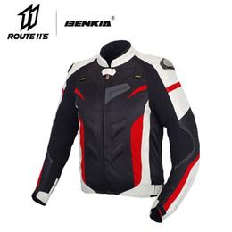 $enCountryForm.capitalKeyWord Australia - BENKIA Men Motorcycle Jacket Protective Gear Motorcycle Clothing Removable Liner Veste Coat Reflective Racing Riding Moto Jacket