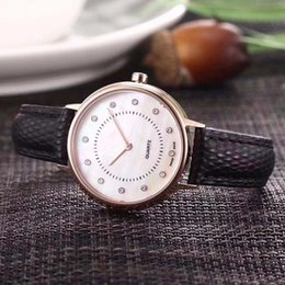 Japanese dress buckle online shopping - AAA luxury brand women s and men s wristwatch stainless steel case leather strap sapphire glass Japanese quartz movement fashion dress watch