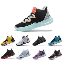 Clear Balls Australia - 2019 New Irving Limited 5 Men Basketball Shoes 5s Black Magic for Chaussures de basket ball Mens Trainers Designer Sneakers 7-12