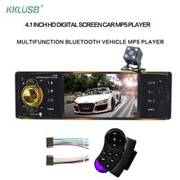 $enCountryForm.capitalKeyWord Australia - 4019b Car Radio 4.1'' Inch 12v 1 Din Auto Audio Stereo Bluetooth 2.0 Usb Aux Fm Radio Tuner Support Rear View Camera Autoradio