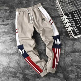 Clothes for bodybuilding online shopping - 2019 High Quality Jogger Pants Men Fitness Bodybuilding Gyms Pants For Runners Brand Clothing Autumn Sweat Trousers Britches