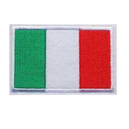 $enCountryForm.capitalKeyWord UK - 8CM Embroidered Patch Italy National Flag Sew Iron On Patches Embroidery Badges For Bag Jeans Hat T Shirt DIY Appliques Craft Decoration