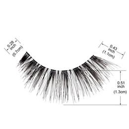 Human Lashes NZ - 12 Pairs Eyelashes 100% Human Hair Handmade False Eyelashes Nature Eye Lashes 2019