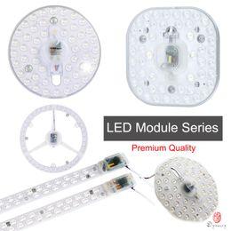u tube light bulbs 2019 - Round LED Module Install Ceiling Lamp LED Lights Replace Instead of U Tube of Light Bulb Ceiling 12W 18W 24W Source Free