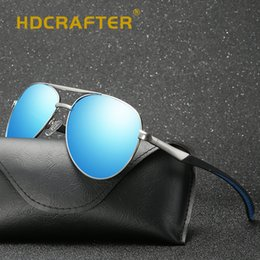 a8eb1af6cfc HDCRAFTER Classic Men Polarized Sunglasses Polaroid Driving Pilot Sunglasses  Man Eyewear Sun Glasses UV400 High Quality