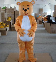 $enCountryForm.capitalKeyWord Australia - High quality hot Helmet Bear Mascot Costumes Movie props show cartoon Apparel