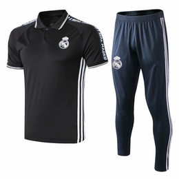 58767ac3d 19 2020 new real madrid polo soccer survetement short sleeves tracksuit  Dayo Ojo chandal training football shirt kit mbappe chandal set