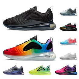 SneakerS running ShoeS for men women online shopping - 2019 Multicolor running shoes for men women Be True Pride triple black sunset Volt Northern Lights mens trainers sports sneakers runners