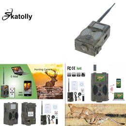Hunters cameras online shopping - Skatolly HC300M MP P Hunting Camera GSM Photo Traps Night Vision Wildlife infrared Hunting Trail Cameras Hunter Device