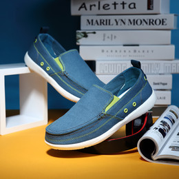 $enCountryForm.capitalKeyWord Australia - Men's Loafers Casual Canvas Shoes Men Light Summer Man Shoes Fashion Slip On Shoes Men Moccasin Homme Yellow Blue Grey Size 39-46