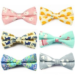 Wholesale business apparel for sale - Group buy New Cotton Bowtie Brand Popular Carton Bow ties Neck Tie Set Ties Apparel Neckwear Casual Mens Business Bow Tie for Men Wedding cm Cravat