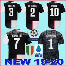 442ac7961 NEW Juventus soccer jersey adult football shirt 2019 2020 RONALDO 18 19 20  uniforms champions Bernardeschi DYBALA JUVE goalkeeper shirt
