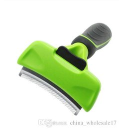 $enCountryForm.capitalKeyWord Australia - Pet Hair Removal Brush Combs Furmins Dog Cat Brush Grooming Tools Pet Supply Detachable Clipper Attachment Pet Trimmer Combs