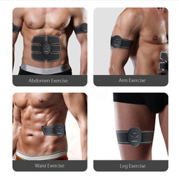 Ems Gear NZ - DHL free Abdominal Muscle Training Stimulator Device Wireless EMS Belt Gym Professinal Body Slimming Massager Home Fitness Beauty Gear