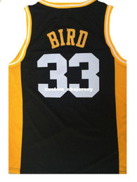 d43f84af9 Larry Bird Youth Jersey NZ - Cheap wholesale Larry Bird 33 Valley High  School Stitched Basketball
