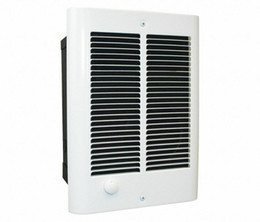 Fan thermostats online shopping - Dayton Electric In Wall Mount Electric Fan Space Heater Bath Bathroom Thermostat