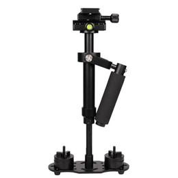 S40 Handheld Aluminiumlegierung Video Stabilizer Mount für Telefon DSLR DV-Kamera im Angebot